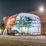 В Сеуле создали здание из ржавого корабля