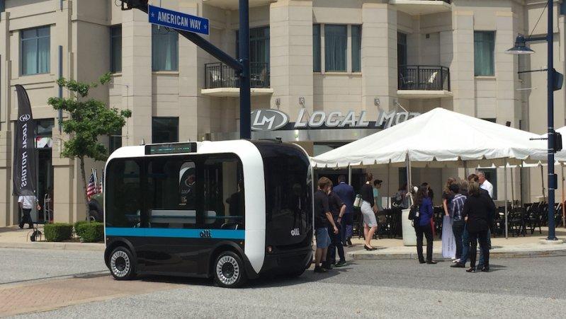 Первый напечатанный на 3D-принтере автобус