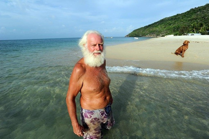 Мужчина создал из необитаемого острова национальный парк