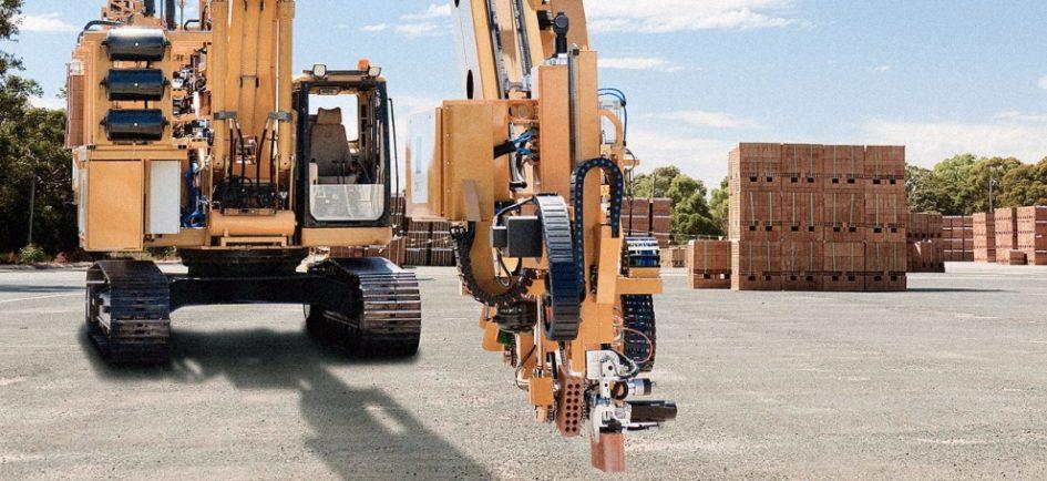 Робот, который укладывает 1000 кирпичей за 1 час