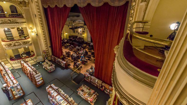 El Ateneo Grand Splendid - сказачный книжный магазин в здании старого театра