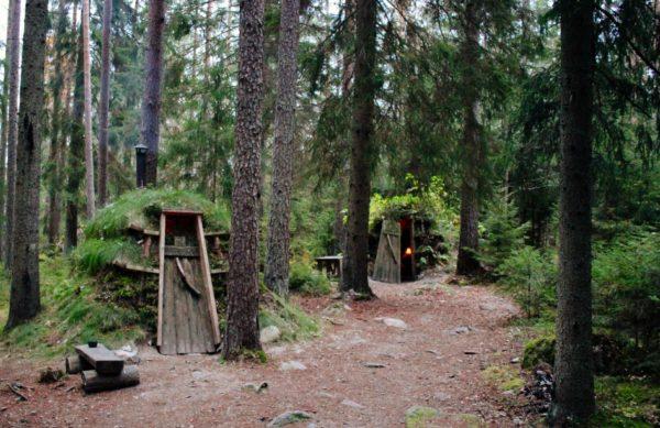 Kolarbyn Ecolodge - дикий отель в шведском лесу