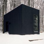 Этот изолированный домик-библиотека в лесах — мечта каждого книголюба