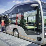 Mercedes-Benz представила беспилотный автобус будущего