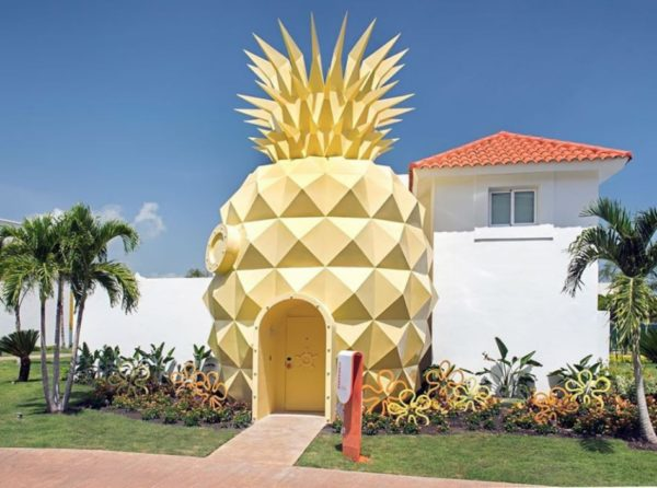 В Доминикане построили виллу Спанч Боба