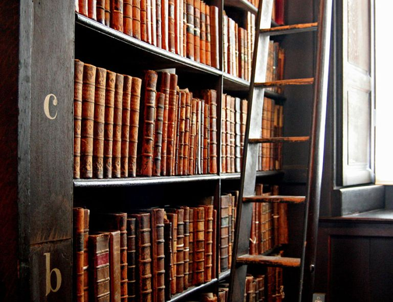 Удивительная библиотека Тринити-колледж в Дублине