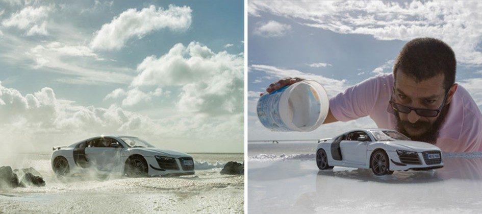 Феликс Родригес создал снимки Audi R8 без Audi R8