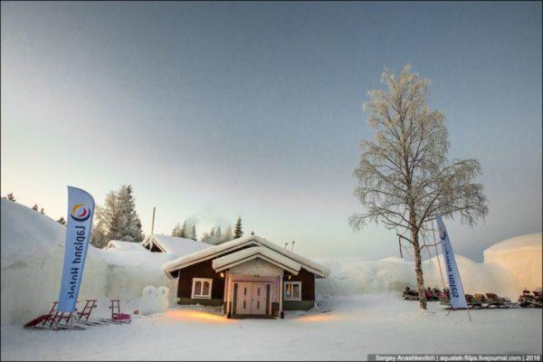 Snow Villiage - ледяной отель, остаться в котором рискнет далеко не каждый