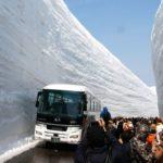 Татэяма Куробэ — зимний горный маршрут, который привлекает многих туристов