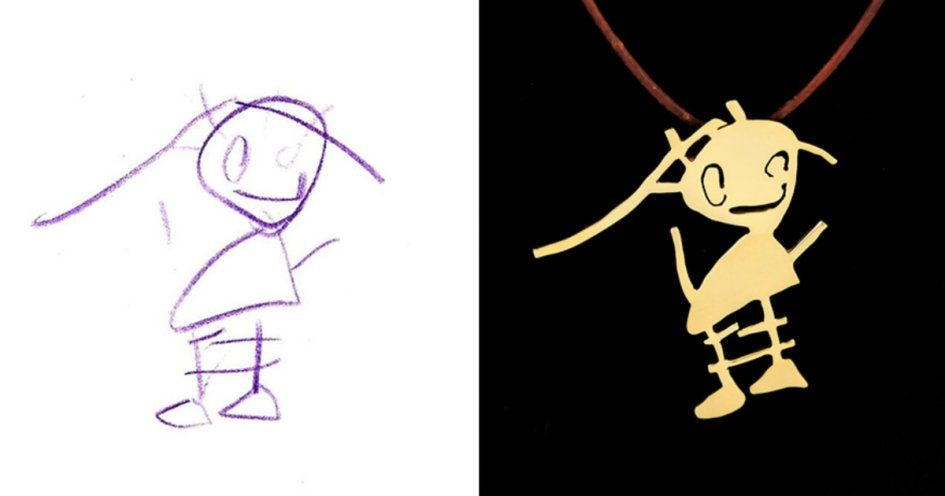 Художник и скульптор создали украшения по рисункам детей