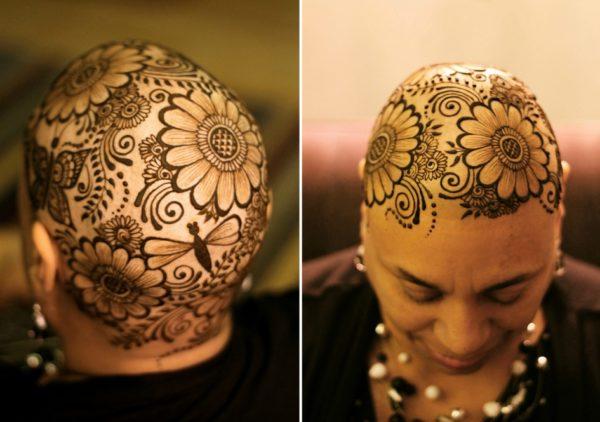 Сара Уолтерс помогает больным раком забыть об отсутствии волос