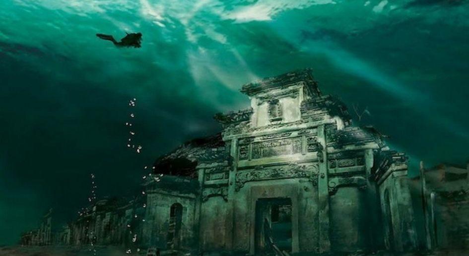 Шичен - затонувший город, который стал достопримечательностью