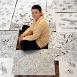 13-летний Душан Кртолица рисует удивительные картины животных