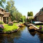 Гитхорн — тихая и уютная деревушка на севере Нидерланд
