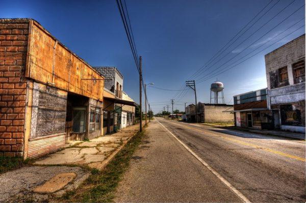Пичер - токсичный город-призрак в США