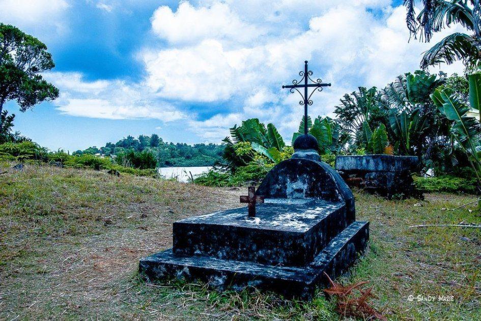 Пиратское кладбище на острове Сент-Мари