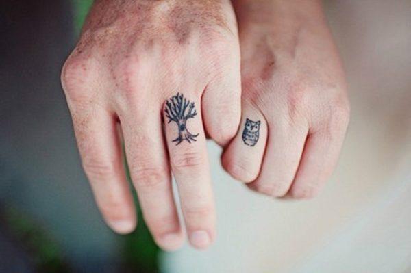 Джессика Хисче и Русс Машмейер профессионально занялись такими совместными татуировками и вот какими они бывают.