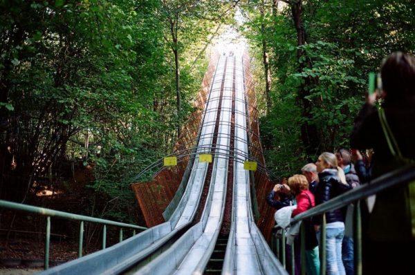 Ai Pioppi - парк развлечений, построенный одним человеком