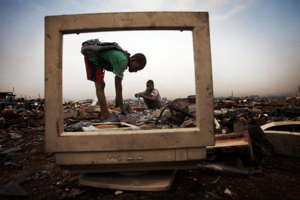 Гана - электронная свалка мира