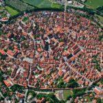 Нёрдлинген — город внутри кратера