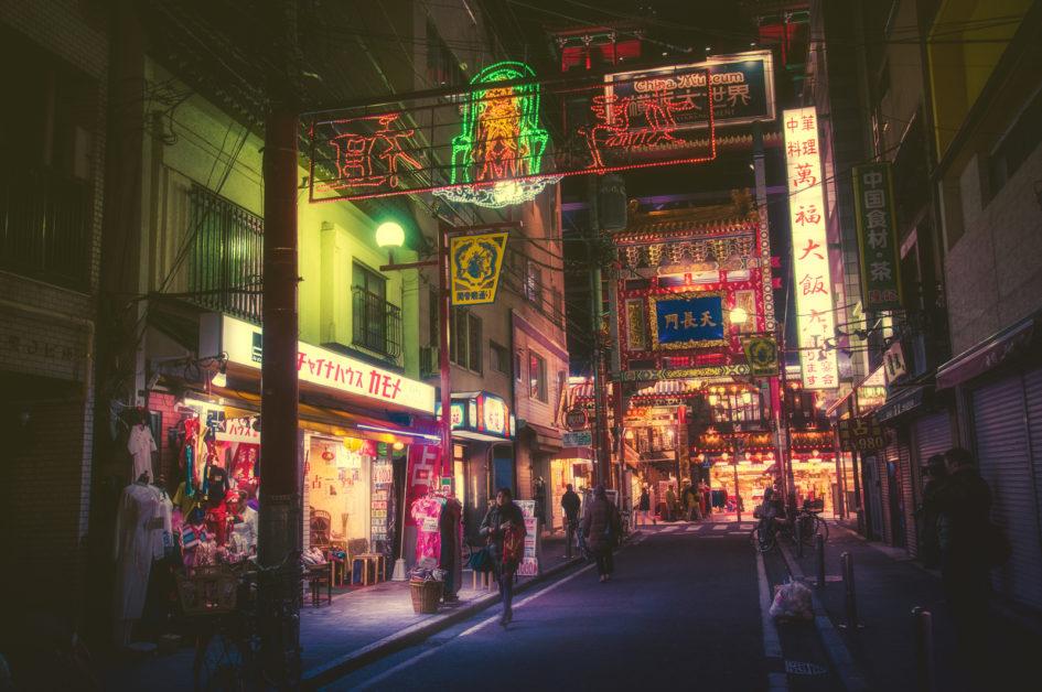 Фотограф Масаши Вакуи показал ночной Токио, похожий на фильм