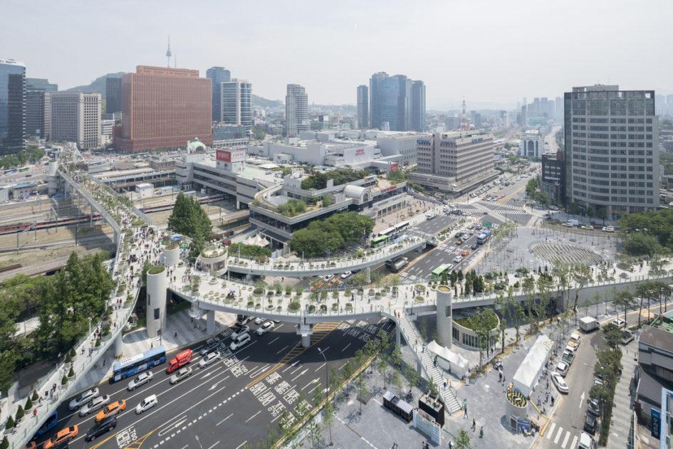 Заброшенное шоссе в Сеуле превратилось в парк с 24000 растений