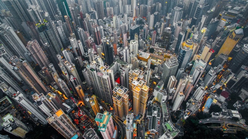 Фотограф Энди Ен показал фотографии Гонконга с высоты