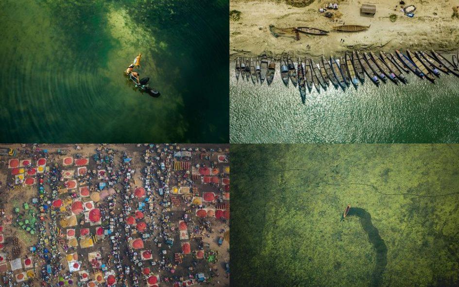 Летчик Шамим Сусом показал удивительные снимки Бангладеша с высоты птичьего полета