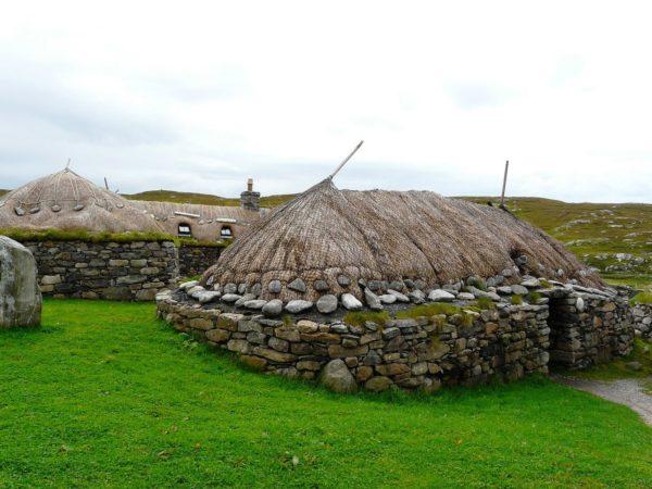 черные дома в шотландии 18 века
