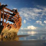 Берег Скелетов — кладбище кораблей в Намибии