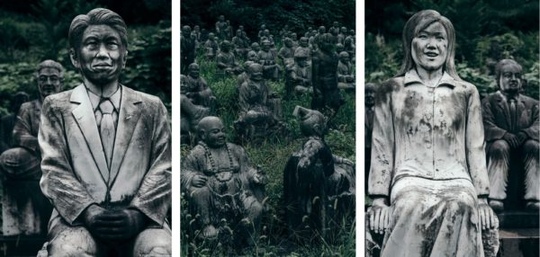 Форесаи Секибуцу но Сато - жуткая деревня, где расположено 800 статуй людей