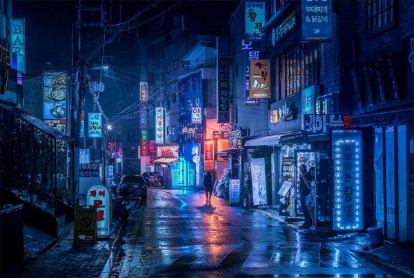 Фотограф Маркус Вендт представил ночные фотографии Гонконга и Шэньчжэня
