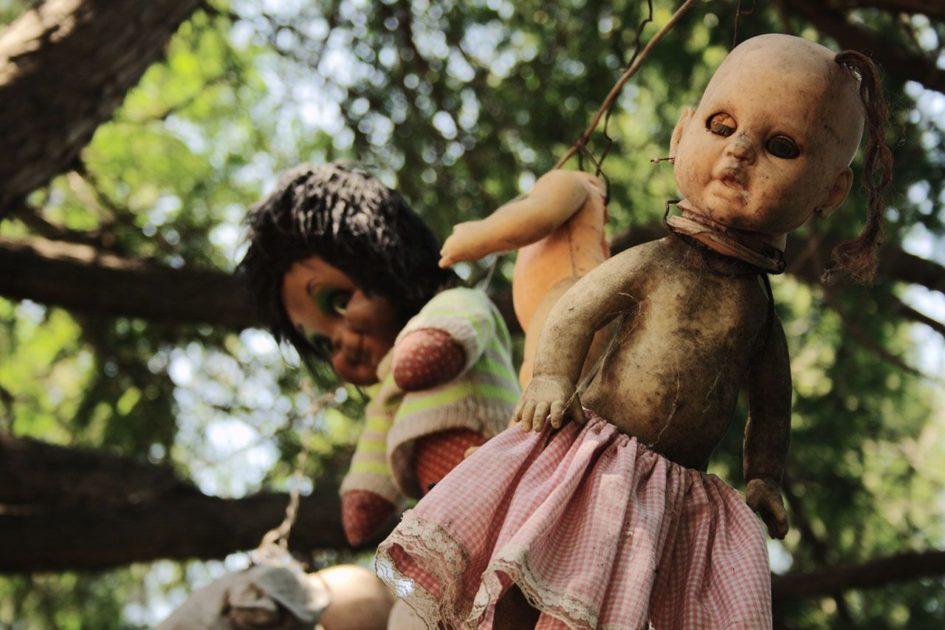 Ла Исла де ла Мюнека - зловещий остров кукол вблизи Мехико