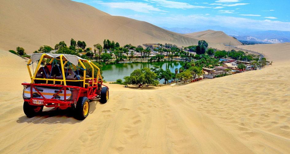Уакачина - великолепный пустынный оазис Перу