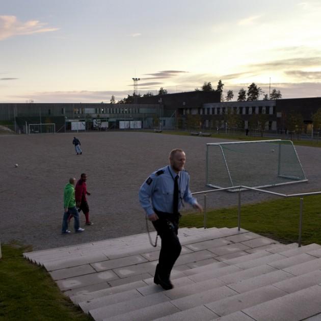 Хальден - необычная тюрьма в Норвегии