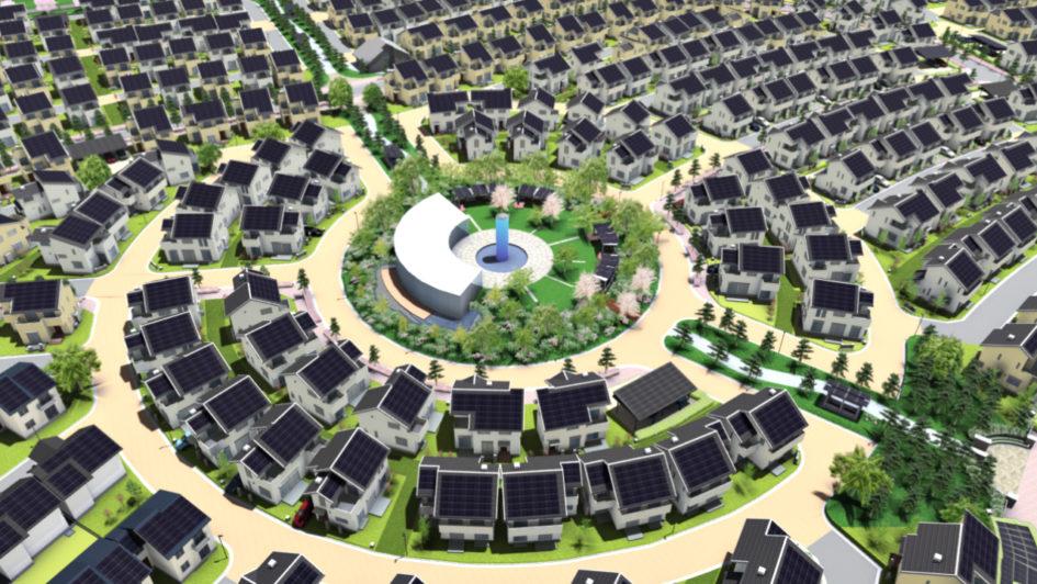 В Японии есть целый город на солнечной энергии Фуджисава