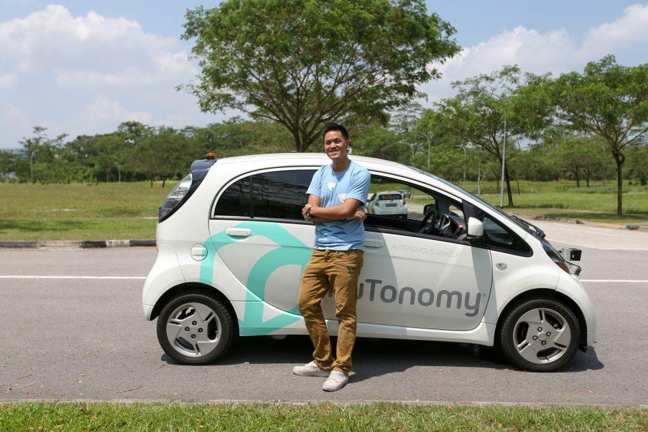В Сингапуре запустили беспилотное такси nuTonomy