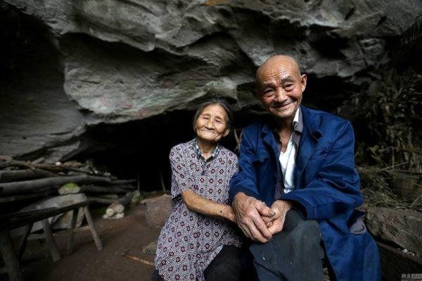 Китайская семья живет в пещере более 54 лет