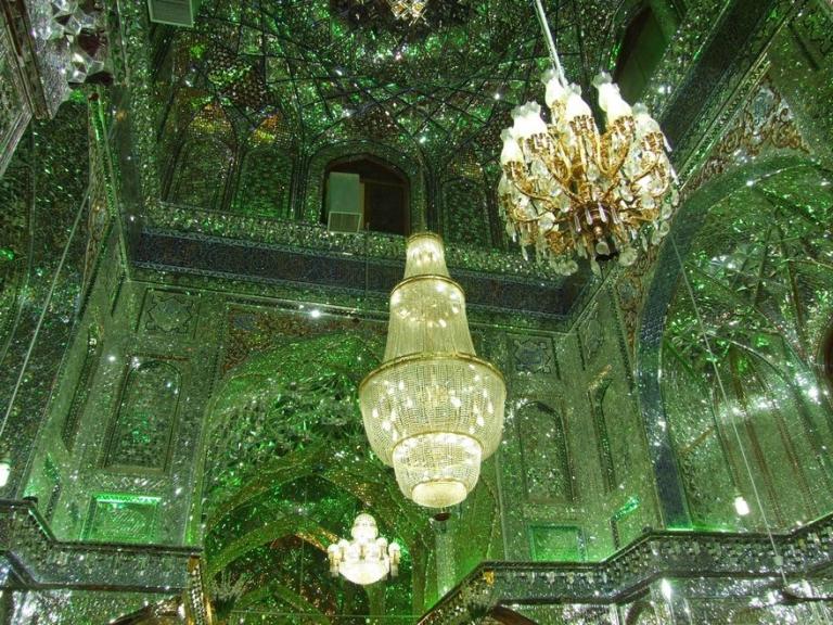 Шах-Черах - одна из самых красивых мечетей в мире