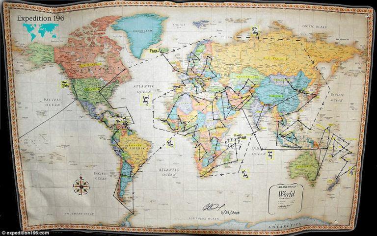 Американка Касандра Де Пекол планирует посетить все государства в мире и ей осталось совсем немного