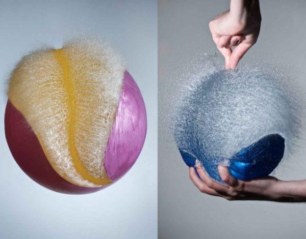 Фотограф Эдвард Хорсфорд показал удивительные фотографии с лопающимися воздушными шарами