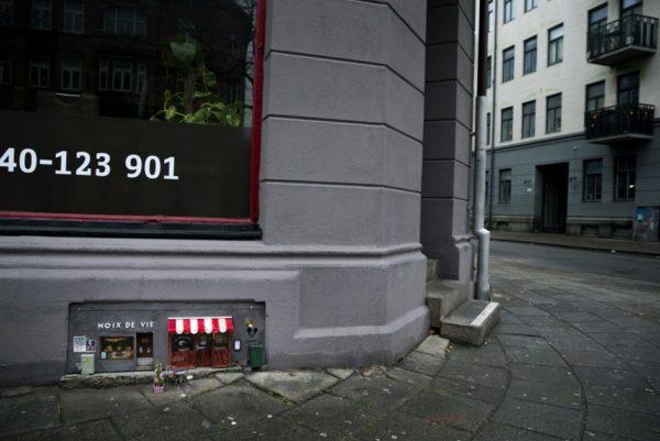 Неизвестные открывают крошечные магазины для мышей