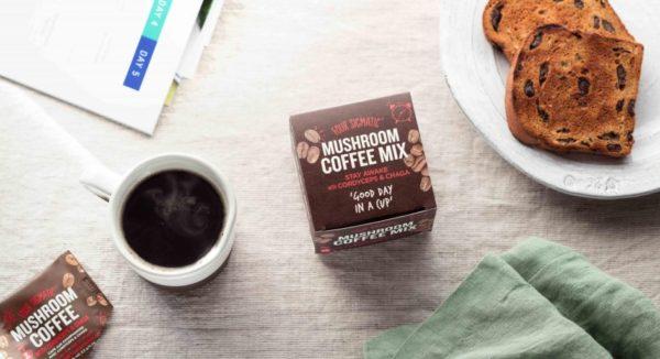 Компания Four Sigmatic создала грибной кофе