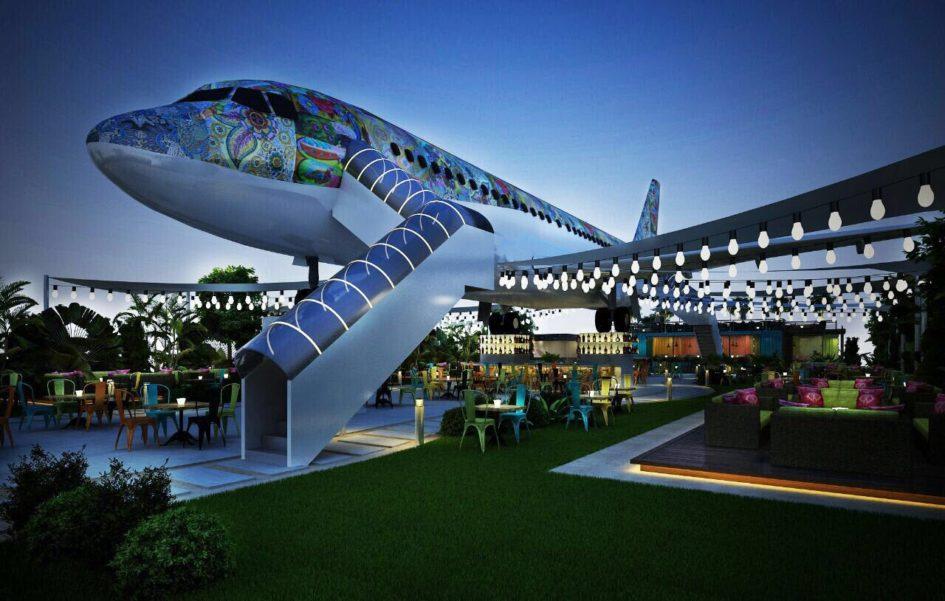 В Индии открылся ресторан-самолет Hawai Adda