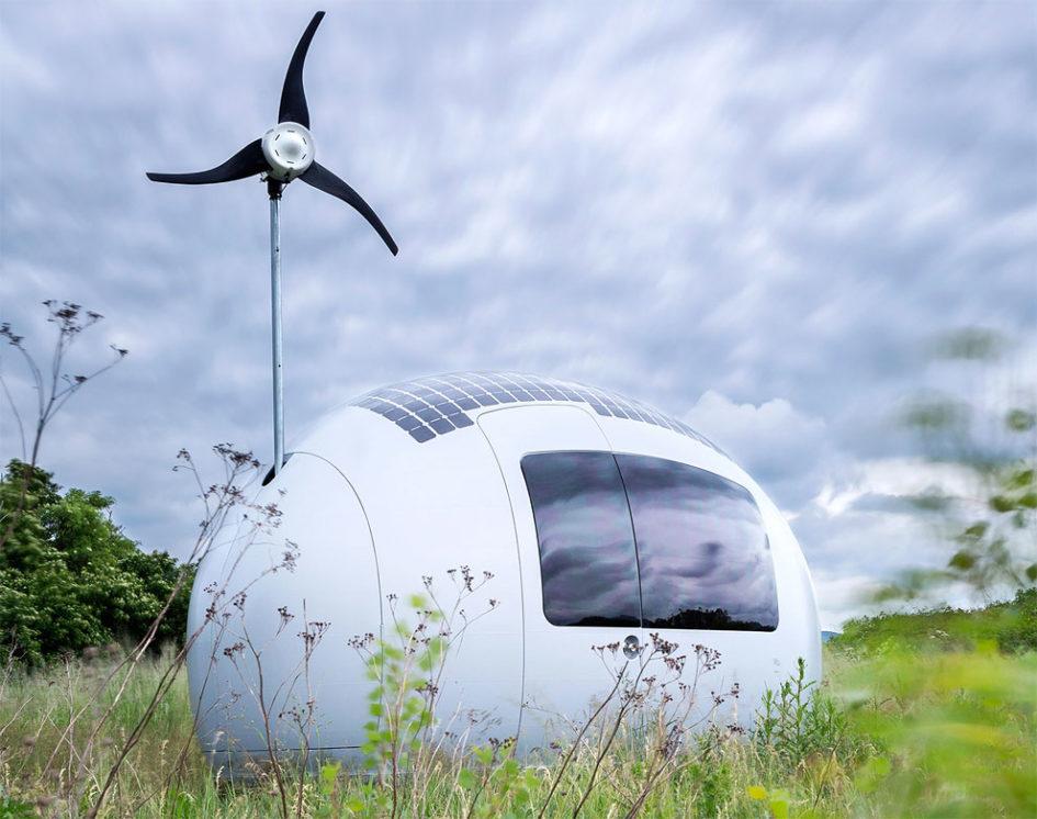 Ecocapsule - экодом, который позволит вам жить в любой точке мира