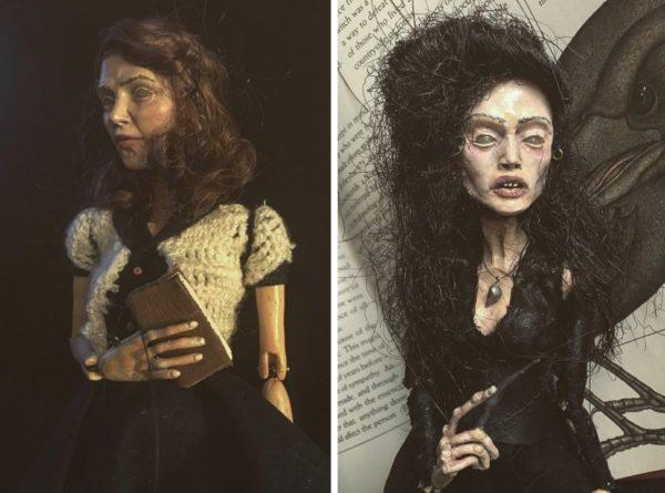 Художник Хан показала коллекцию невероятно жутких кукол