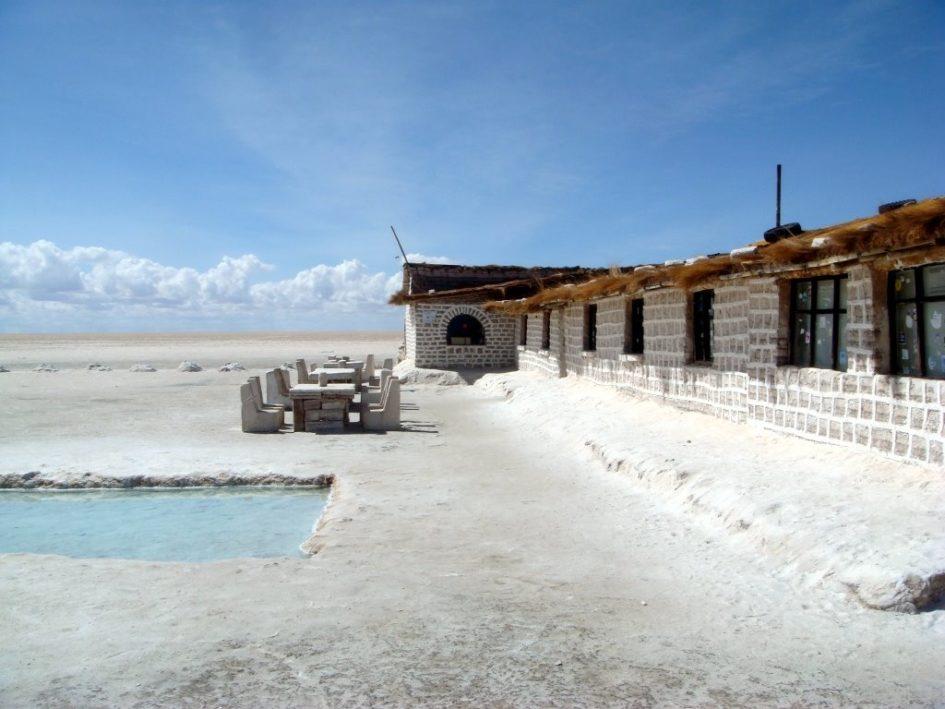 Hotel de Sal Playa - единственный в мире отель из соли