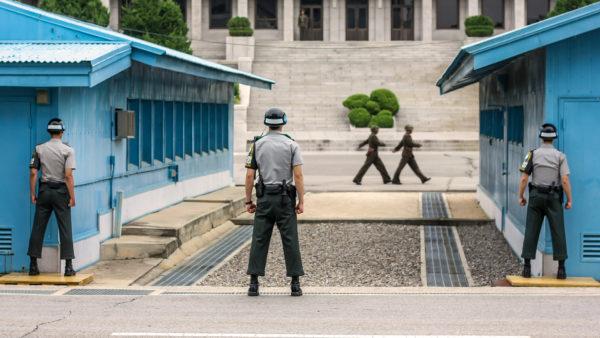 Пханмунджом - деревня-граница между Северной и Южной Кореей