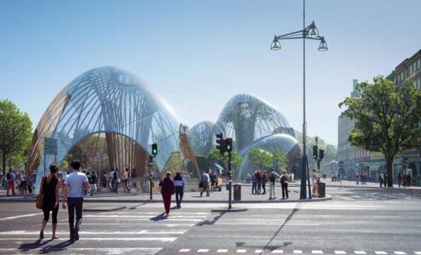 В Стокгольме откроют зимний сад, который будет зеленым круглый год