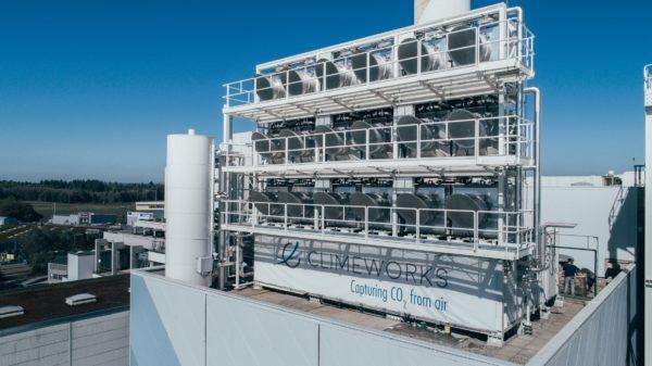 Компания Climeworks создала завод по очистке воздуха от углекислого газа